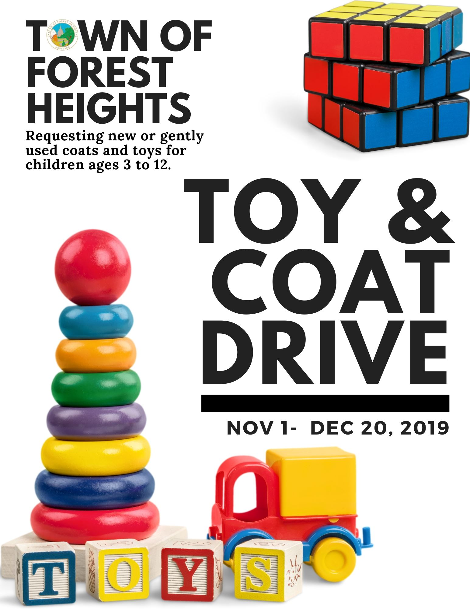 Town of Forest Heights Toy  Coat Drive