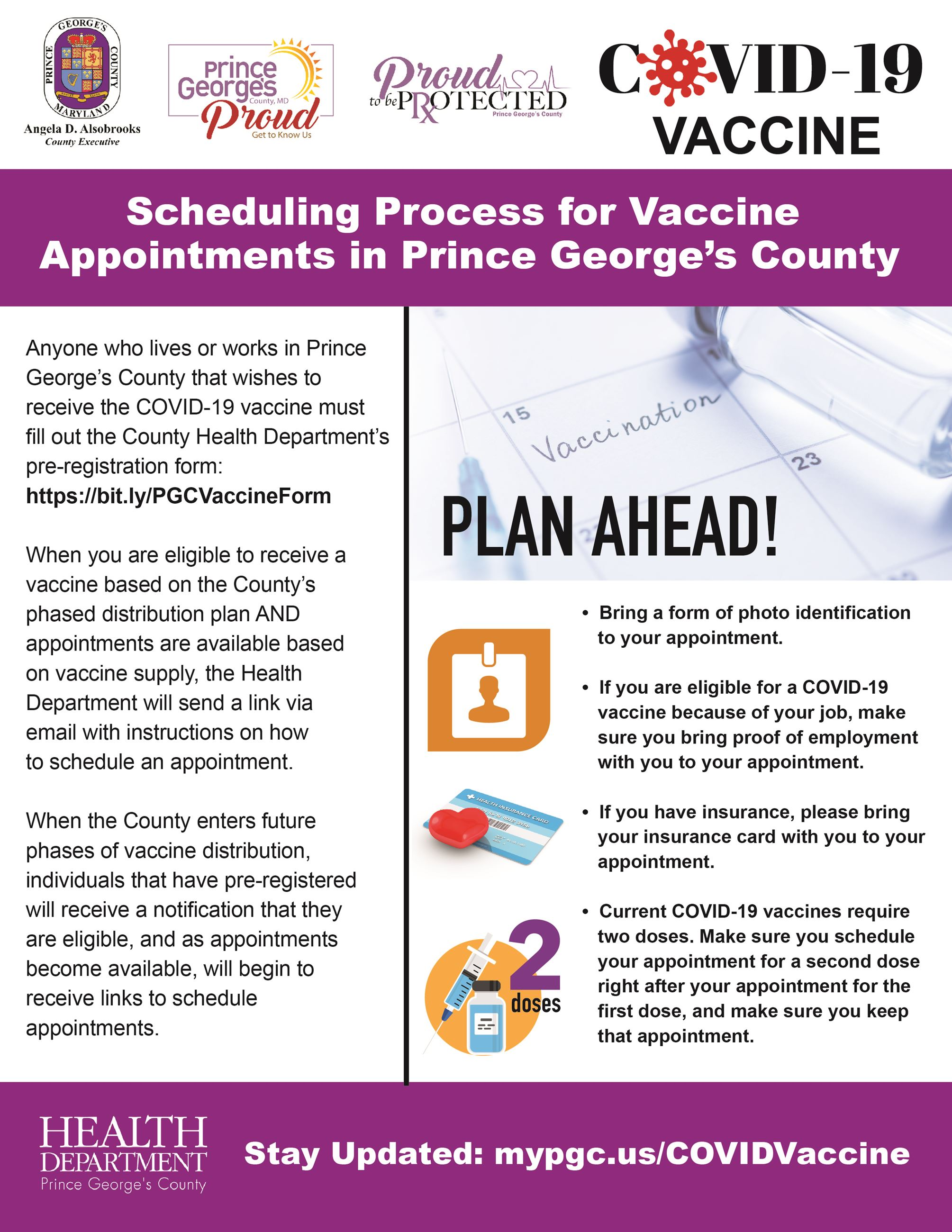 Vaccine Scheduling Process English